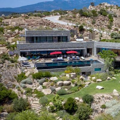 photo aerienne drone villa luxe provence