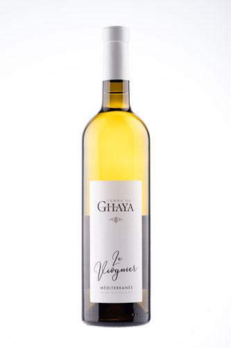 photographie bouteille viognier vin blanc